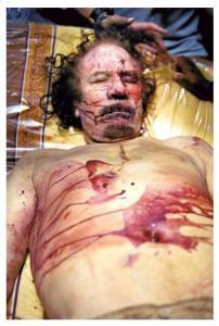 Mu'ammar-Kaddafi-w-bestialski-sposób-zamordowany